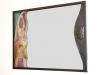 Specchio con inserto in ceramica di