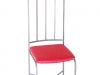 Sedia con seduta rossa