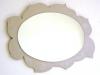 Specchio sole ovale